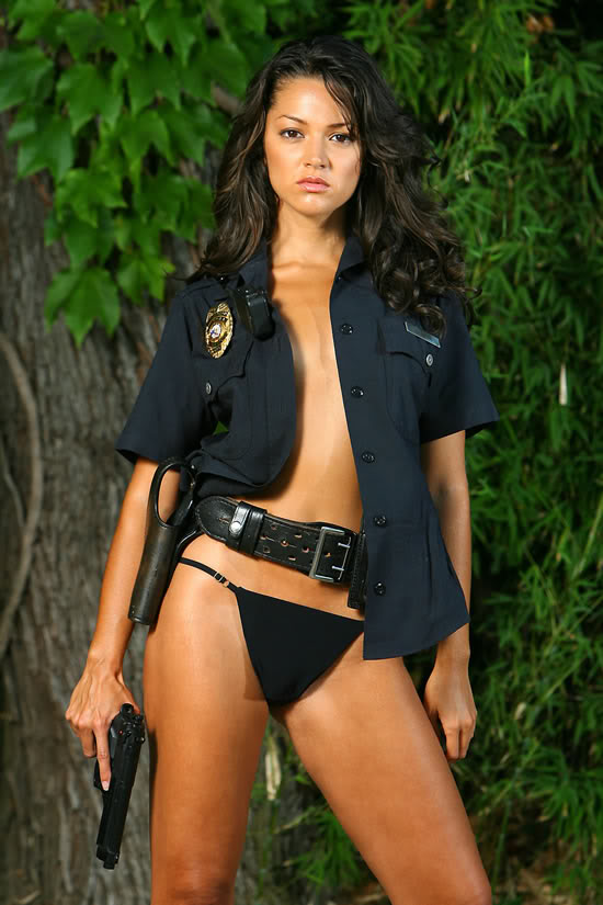 Damn Latina sexy women in uniforms