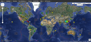 RSOE-Interactive Emergency and Disaster Map