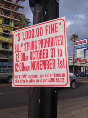Hollywood-Silly-String-Ban